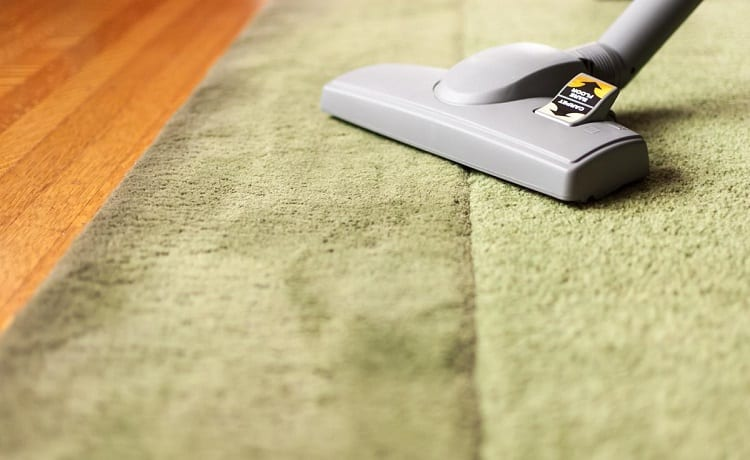 vacuuming smelly carpet